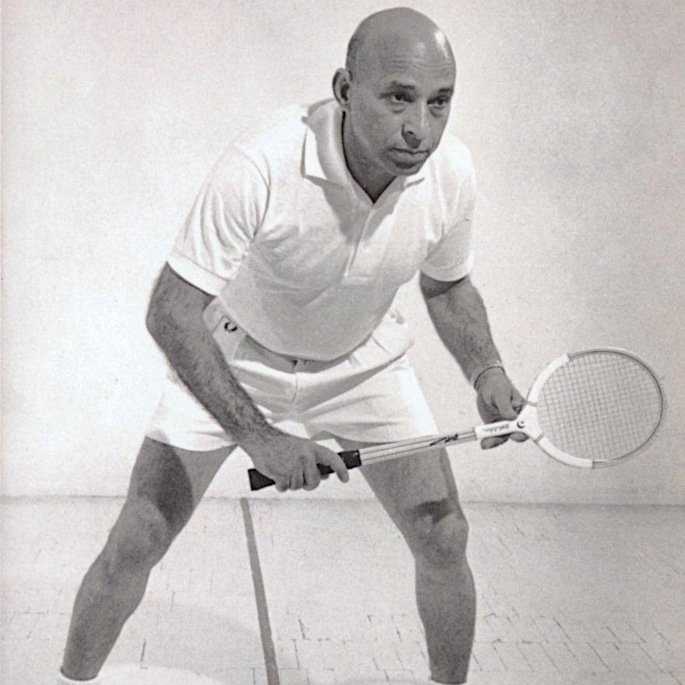 7 Famous Squash Players from Pakistan - Hashim Khan