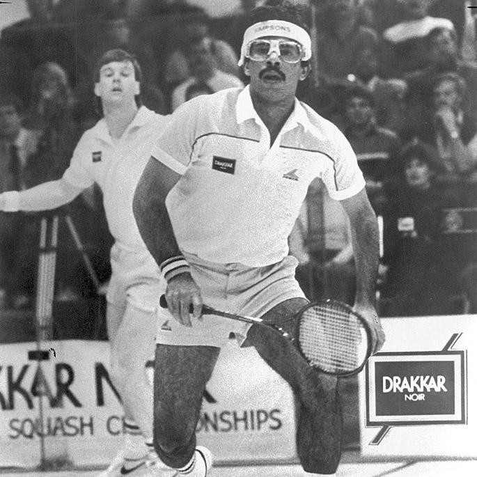 7 Famous Squash Players from Pakistan - Jahangir Khan