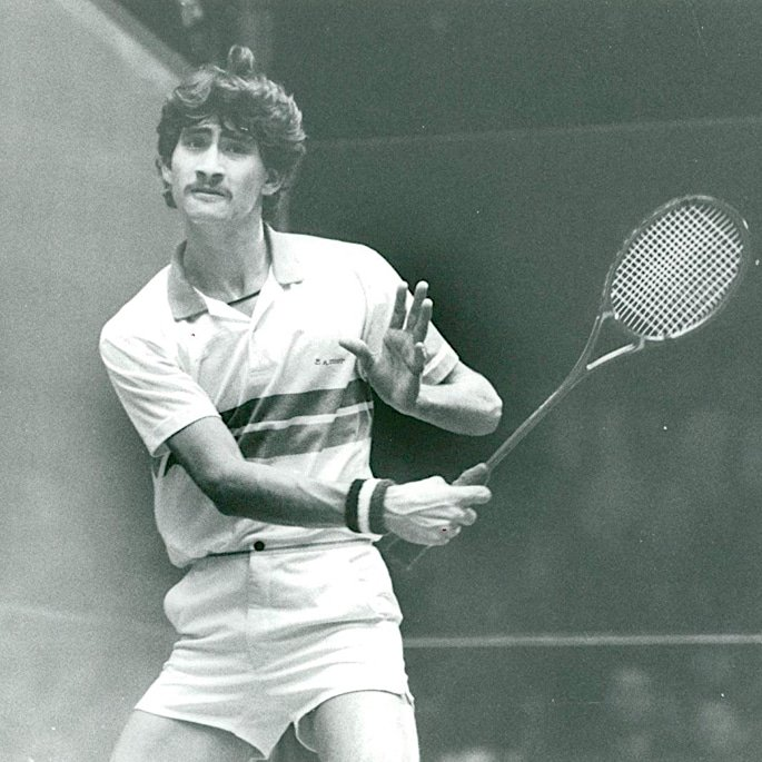 7 Famous Squash Players from Pakistan - Jansher Khan