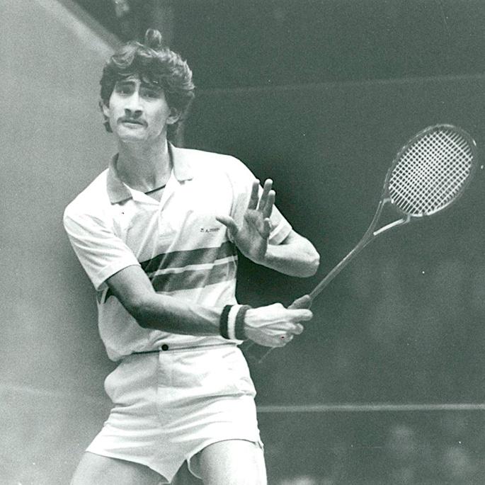 7 Famous Squash Players from Pakistan - Jansher Khan