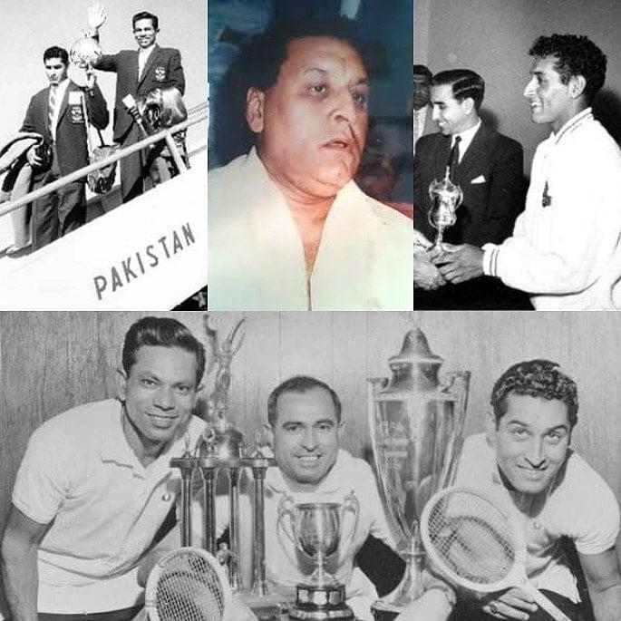 7 Famous Squash Players from Pakistan - Mohibillah Khan Senior
