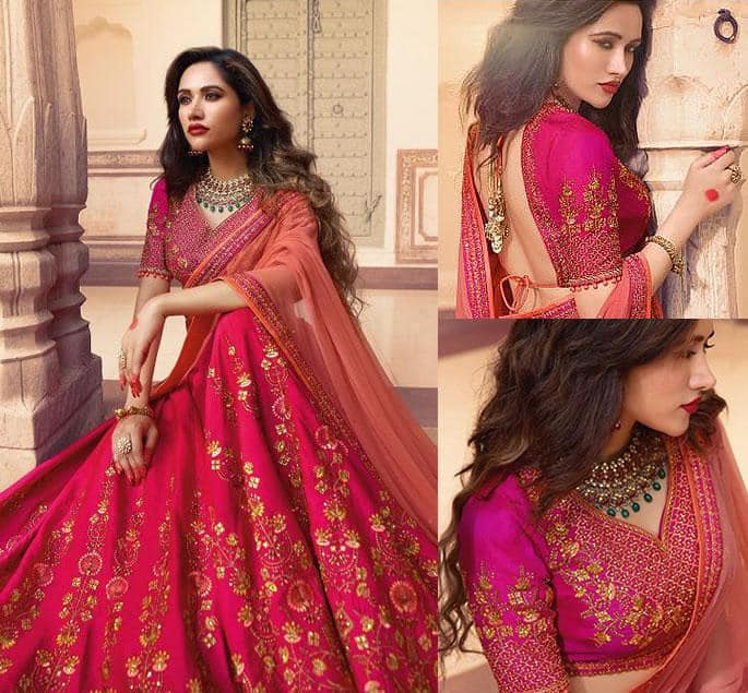 Beautiful Modern Bridal Lehengas for your Wedding - cerise 2
