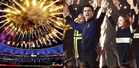 Big stars rock Pakistan Super League 2019 Ceremony
