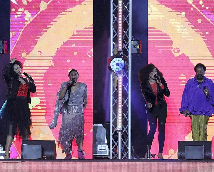 Big stars rock Pakistan Super League 2019 Ceremony - Boney M