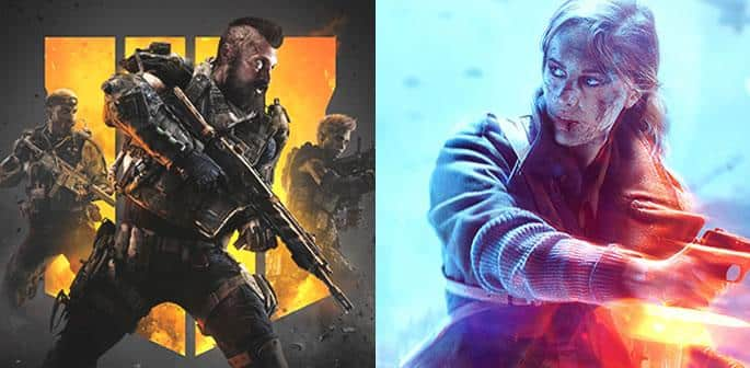 Call of Duty Black Ops 4 Vs Battlefield V f