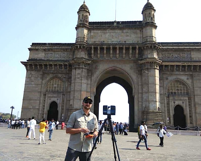 CyArk to create Digital Model of the Gateway of India - IA 1