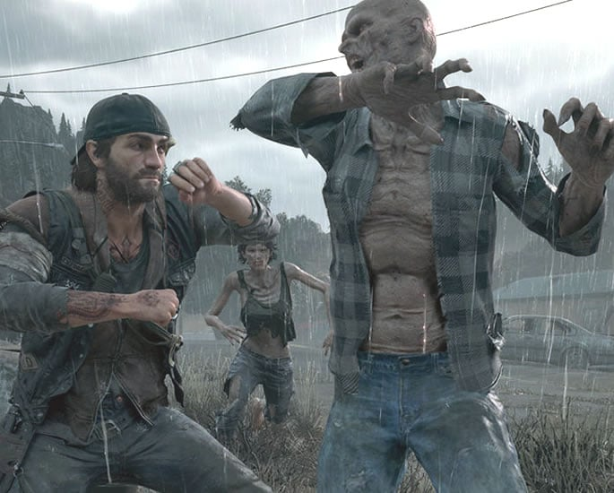 Days Gone Unlike any other Zombie Game - gameplay
