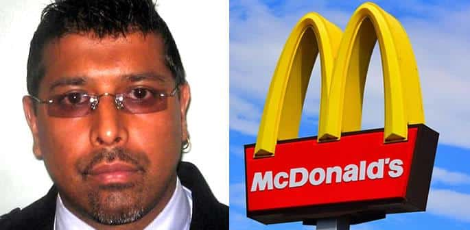 Drunk Driver used Fake Police ID to get McDonald's Discount f
