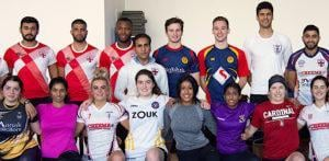 England Kabaddi Men's & Women's Teams for World Cup 2019 f