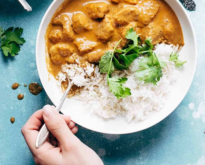 How British Asian Food has Changed in Households - chicken tikka masala