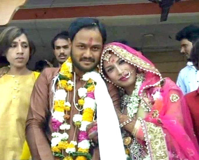Indian Man marries Transgender Person against Family Wishes 1A