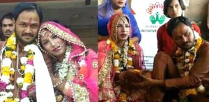 Indian Man marries Transgender Person against Family Wishes f
