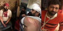 Indian Wedding Photographers beaten at Reception Party