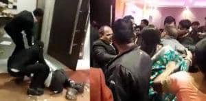 Indian Wedding erupts into Huge Fight due to Bad Quality Food f