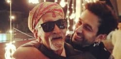 Ishqbaaz actor Nakuul Mehta celebrates Grandfather's Birthday