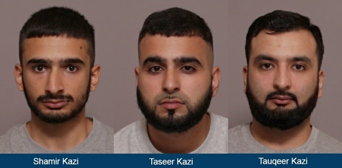 Kazi Brothers jailed for Baseball Bat attack in Leicester f