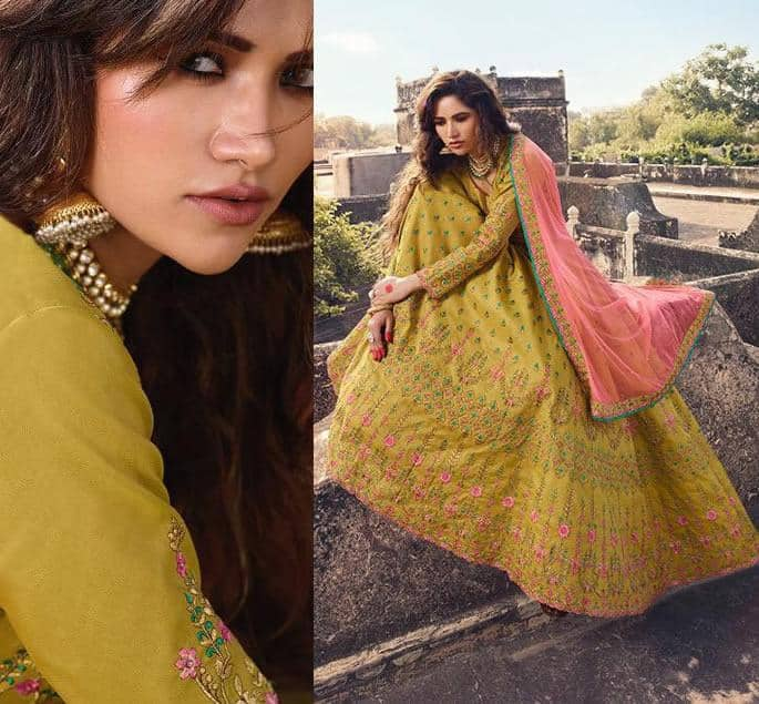 Modern Bridal Lehengas for your Wedding - mustard 2