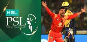 Pakistan Super League Teams and Squads 2019 f