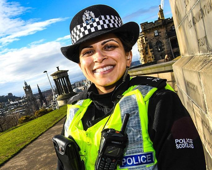 Police Scotland: The Journey of Constable Samera Ashraf - IA3