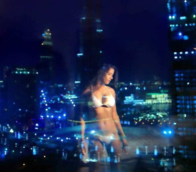 Poonam Pandey sizzles in Dubai Lingerie Photoshoot - pose 5