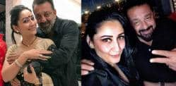 Sanjay Dutt gets Romantic for 11th Wedding Anniversary