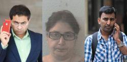 'விசாவிற்கான பணம்' £ 650 கே குடிவரவு மோசடிக்கு மூன்று தண்டனை