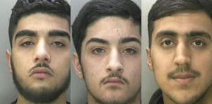 Three Teenagers jailed for Shooting at Chip Shop f