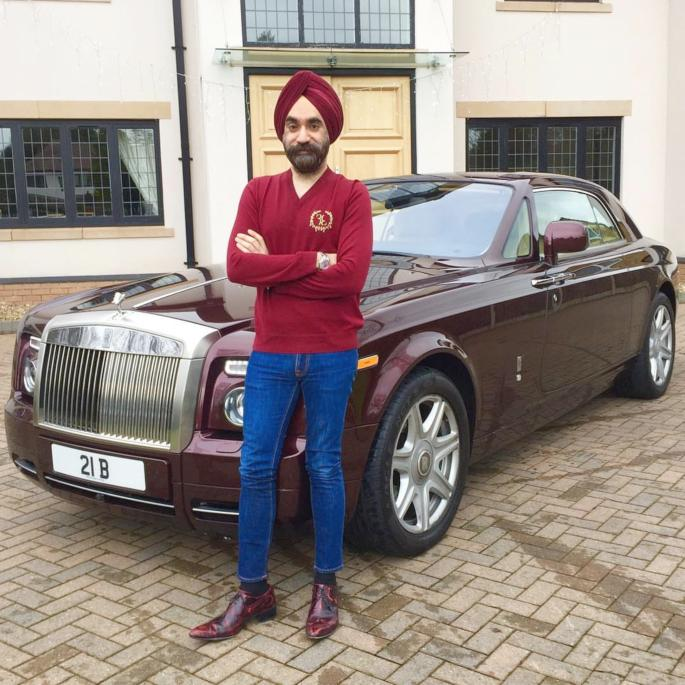 UK Billionaire Reuben Singh buys 6 Rolls-Royces Owning over 20