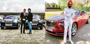 UK Billionaire Reuben Singh buys 6 Rolls-Royces Owning over 20 f