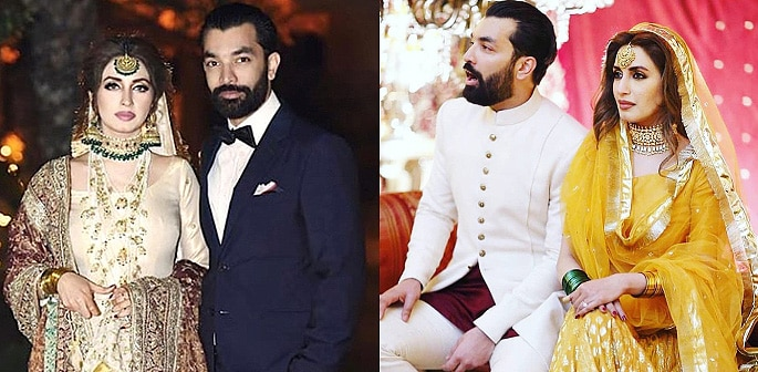 Wedding Highlights of Iman Ali & Babar Bhatti f