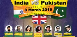 Win Tickets for India vs Pakistan Comedy Clash 2019