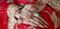 Young Pakistani Bride robs Older Husband on Wedding Night