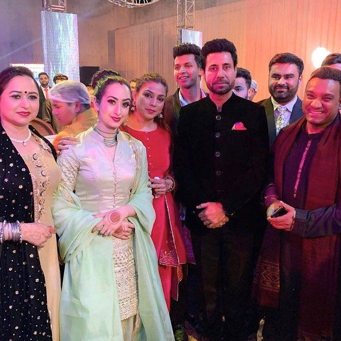 Yuvraj Hans marries Mansi Sharma in Wonderful Ceremony - IA 5