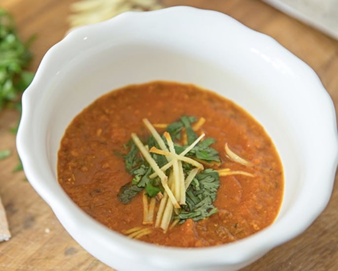 10 Heartwarming Indian Soup Recipes to Try - ginger