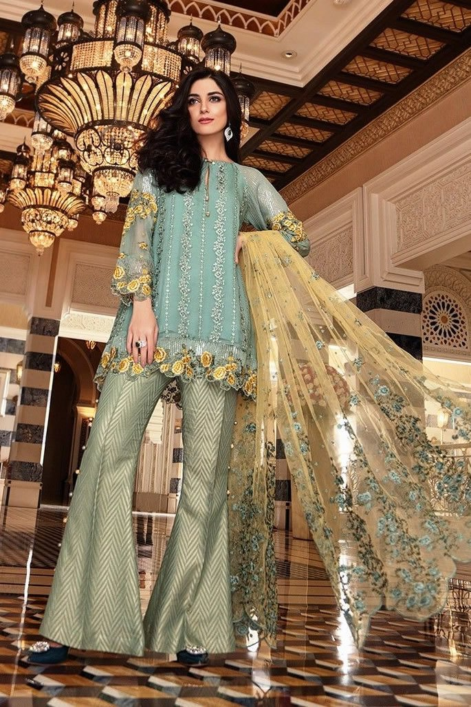 10 Stylish Fashion Looks of Pakistani Women - Bell Bottom