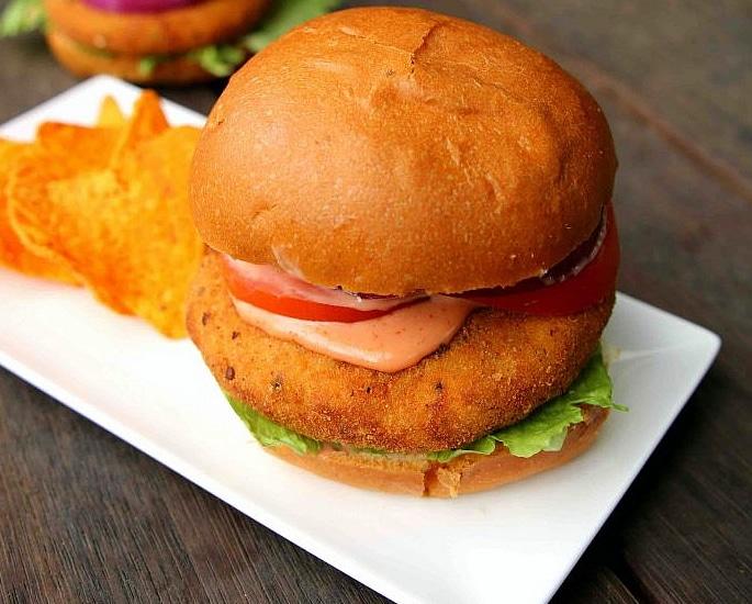 5 Desi-style Burger Recipes to Make at Home - aloo tikki