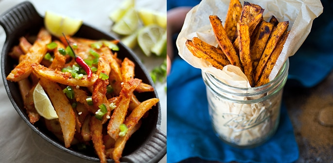 5 Recipes for Chips and Fries with a Desi Flavour f