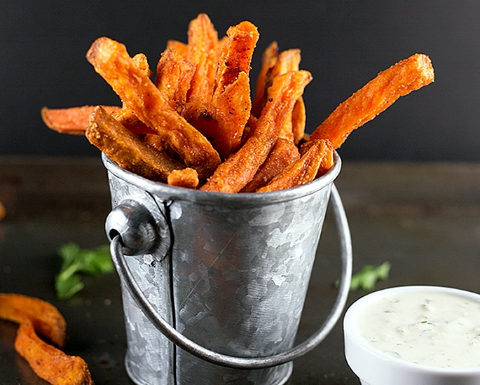 5 Recipes for Chips and Fries with a Desi Flavour - sweet potato