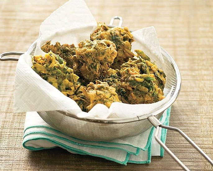 5 Tasty Pakora Recipes to Make at Home - spinach