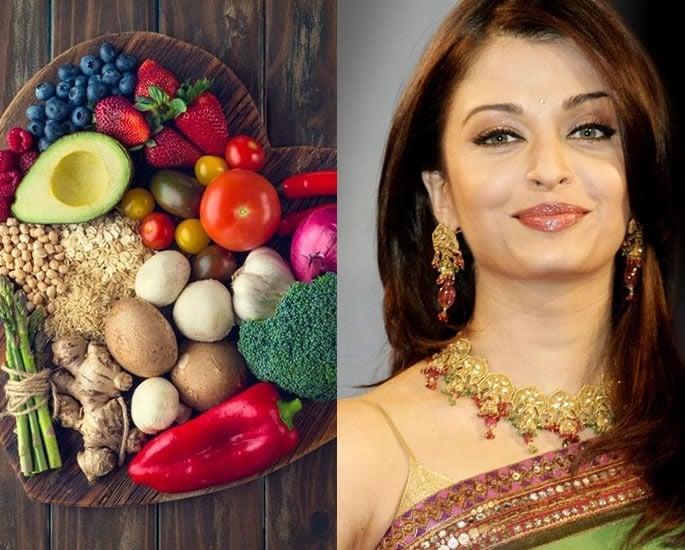 7 Beauty Secrets of Aishwarya Rai Bachchan - Diet