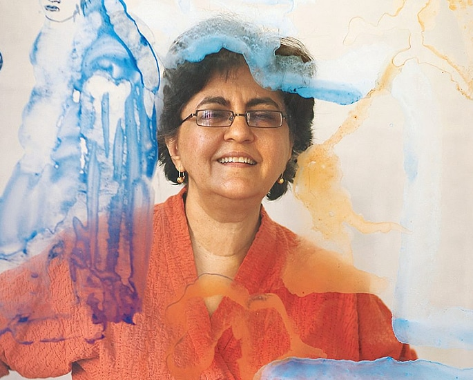 7 Indian Women Artists known for their Art - nalini