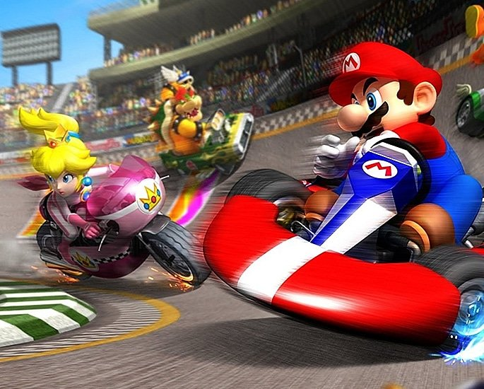 7 Top Racing Games enjoyed by Players - mario