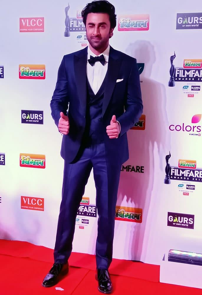 Best-Dressed-Filmfare 2019 - Ranbir Kapoor