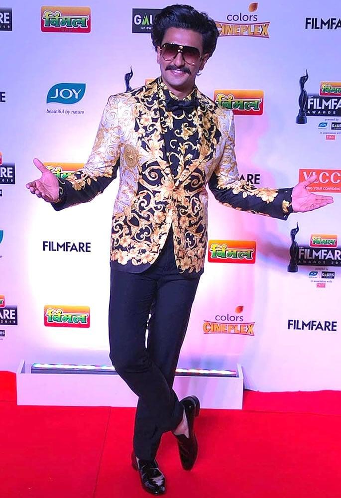Best-Dressed-Filmfare 2019 - Ranveer Singh