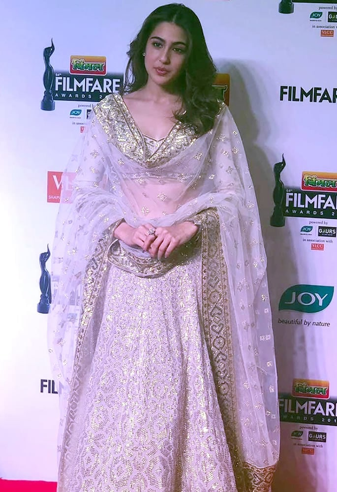 Best-Dressed-Filmfare 2019 - Sara Ali Khan