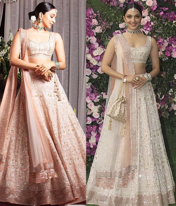 Best Dressed Stars at Akash Ambani-Shloka Mehta Wedding - kiara advani