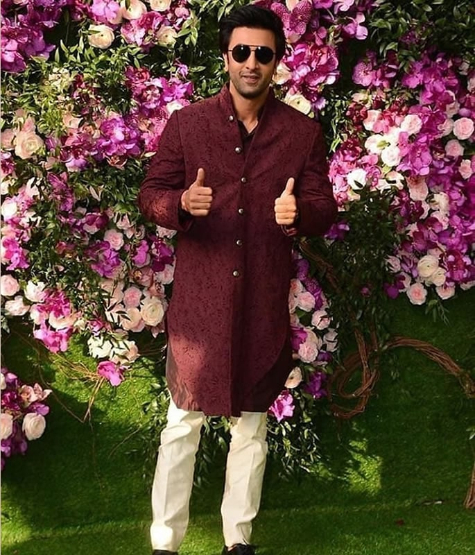 Best Dressed Stars at Akash Ambani-Shloka Mehta Wedding - ranbir