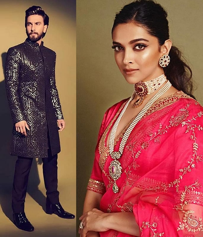 Best Dressed Stars at Akash Ambani-Shloka Mehta Wedding - ranveer deepika
