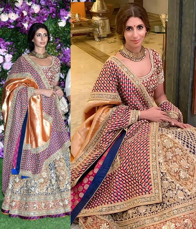 Best Dressed Stars at Akash Ambani-Shloka Mehta Wedding - shweta