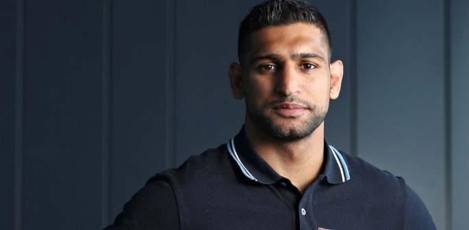 Boxer Amir Khan responds to his Haters in the UK f
